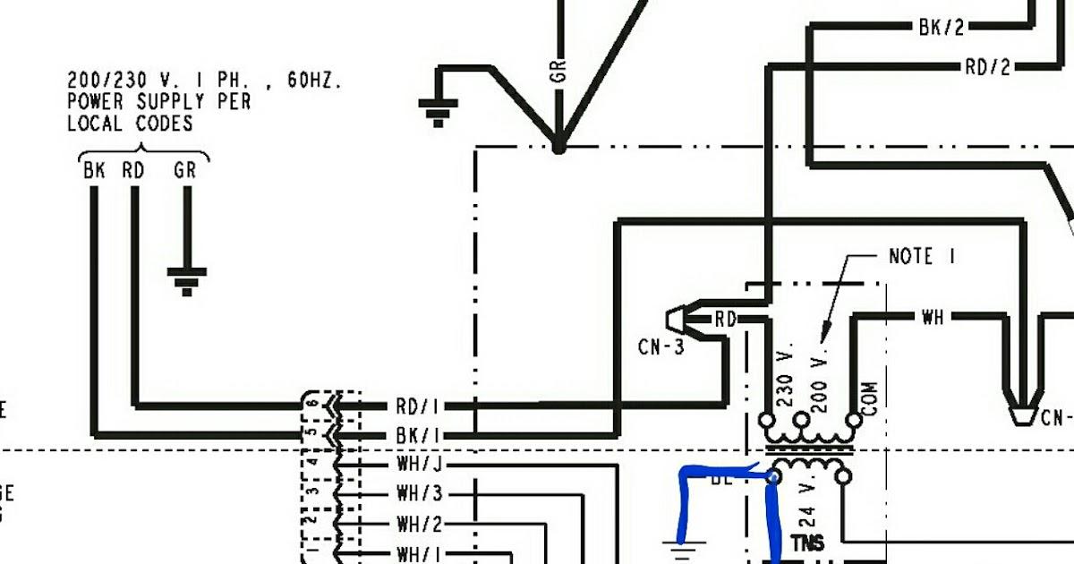 Air Handler Wiring : Goodman Aruf Air Handler Wiring