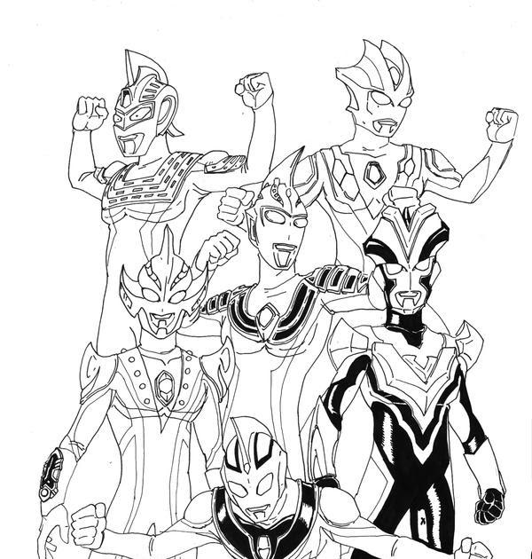 82 [ Coloring Page Ultraman ] Kids Coloring Game Ultraman