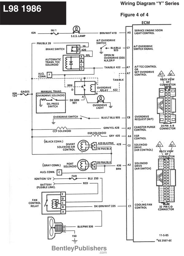 1978 Corvette Engine Diagram