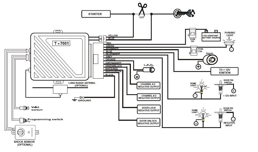 [DIAGRAM] Alarm Wiring Diagram 2007 Toyota Yaris