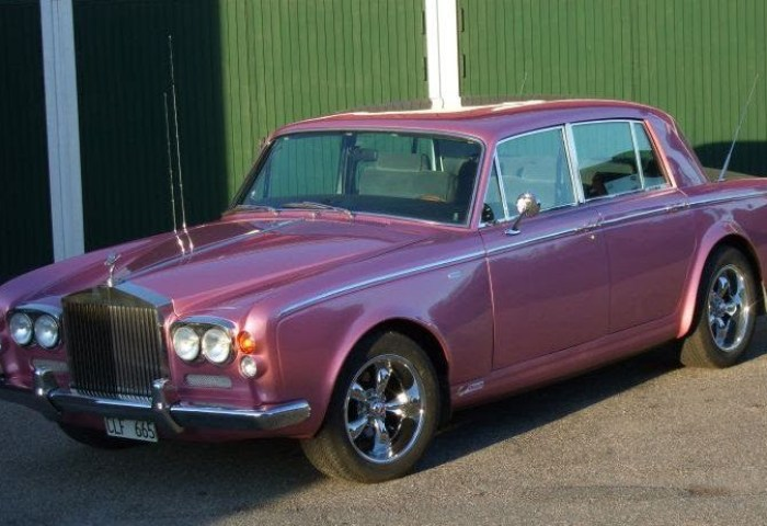 Super Cars News Rolls Royce Silver Shadow Pink