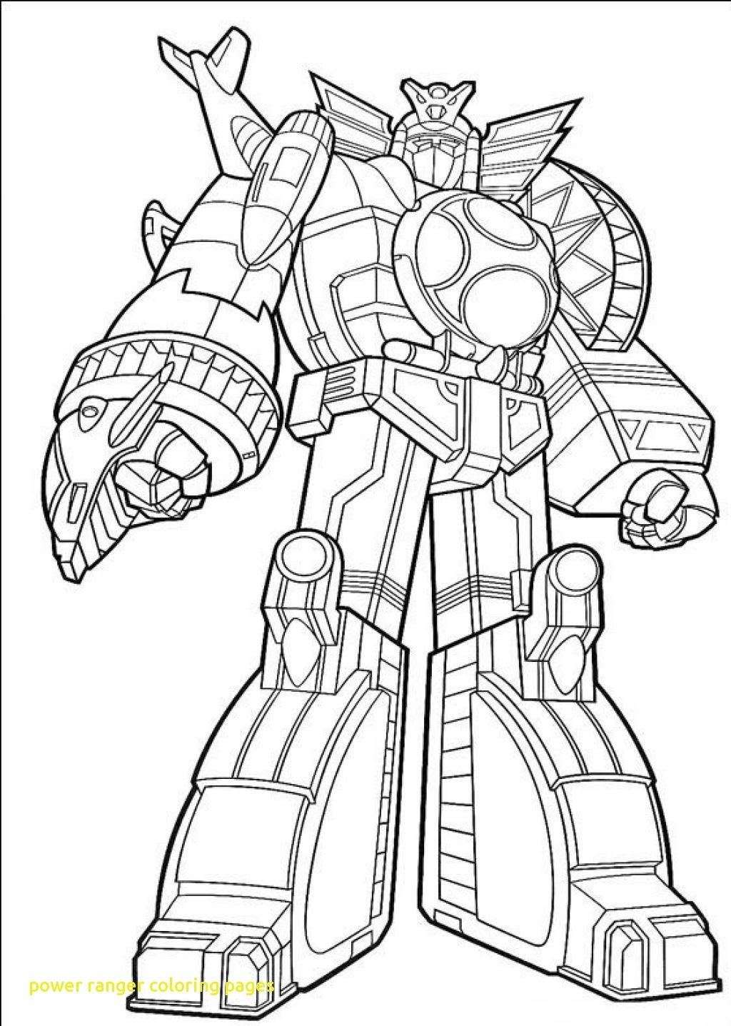 Megazord Coloring Pages : megazord, coloring, pages, Power, Rangers, Megazord, Coloring, Pages, Printable