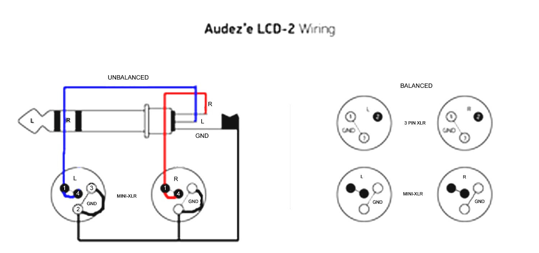 [Download 36+] 3 Pin Xlr To Mono Jack Wiring Diagram