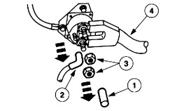 Starter solenoid /relay location and removal 2003 FORD