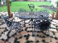 BeachBrights: Painting Metal Patio Furniture