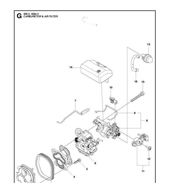 28 Husqvarna Chainsaw Carburetor Adjustment Diagram