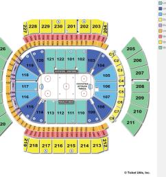 gila river arena hockey seating chart 2 [ 1011 x 828 Pixel ]
