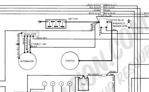 1976 Ford Voltage Regulator Wiring Diagram