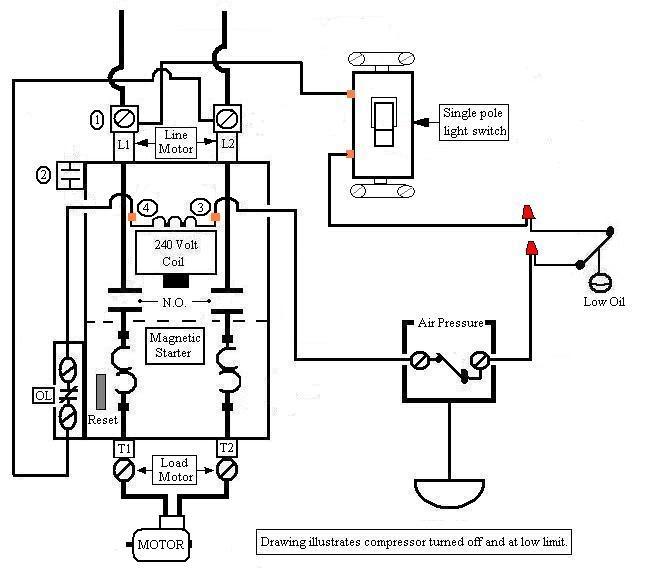 [32+] 3 Phase Air Compressor Motor Starter Wiring Diagram