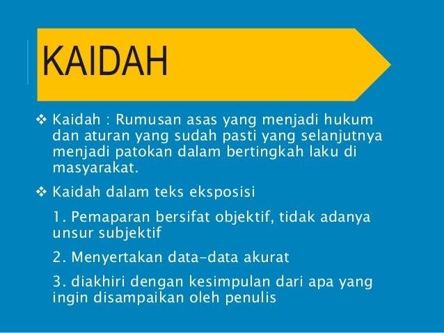 Contoh Teks Prosedur Bahasa Indonesia