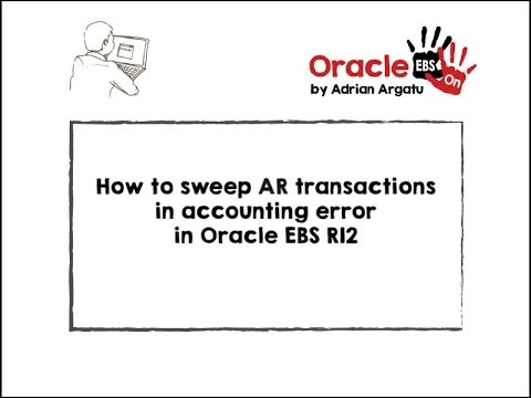 Oracle EBS Hands-on: How to sweep AR (Receivables