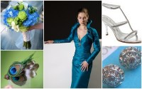 Nina Renee Designs: A Peacock Inspired Glamorous Bridesmaid