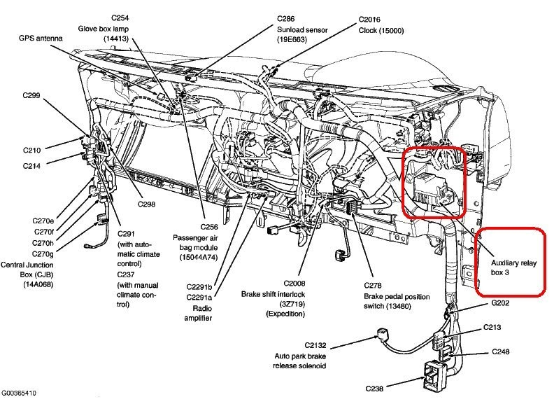 schematics and diagrams: 2005 Ford Expedition Flasher