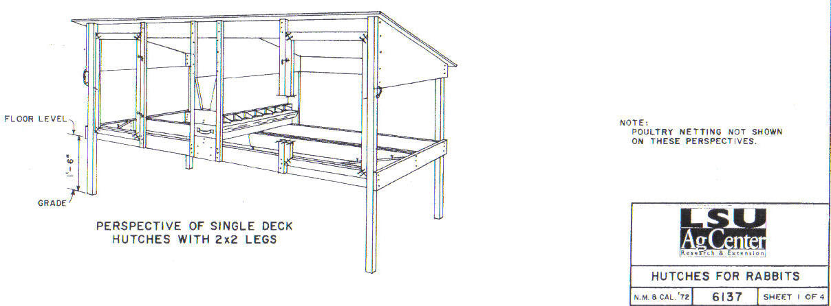toin: Woodworking Plans Rabbit Hutch