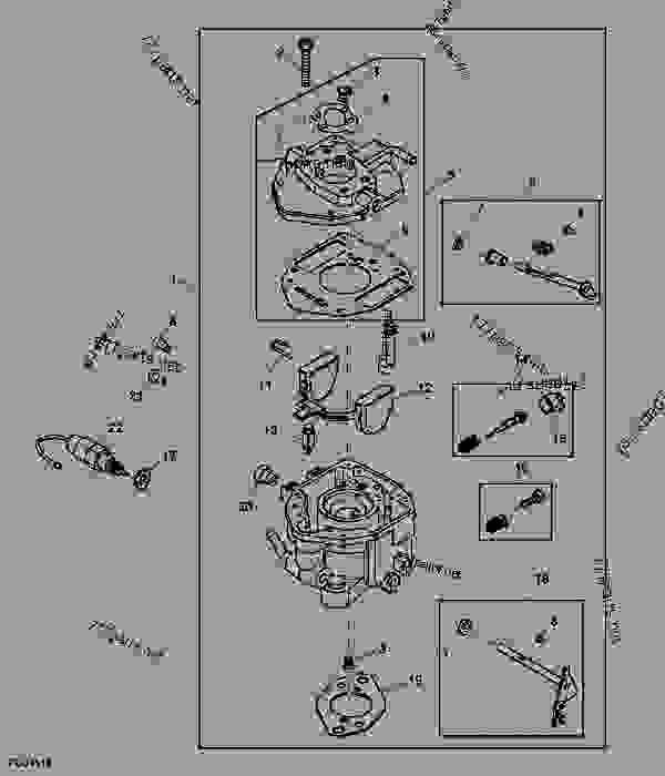 Wiring Diagram Database: John Deere Gator Carburetor Diagram