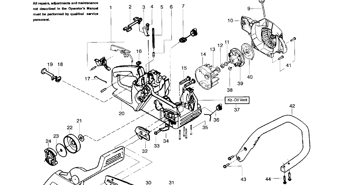 Wiring Diagram Database: Poulan Chainsaw Fuel Line Diagram