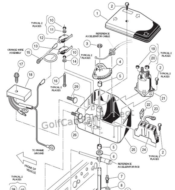 [DIAGRAM] 48 Volt Club Car 252 Wiring Diagram FULL Version