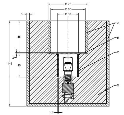 Industrial refrigerators: Diagrama electrico de un