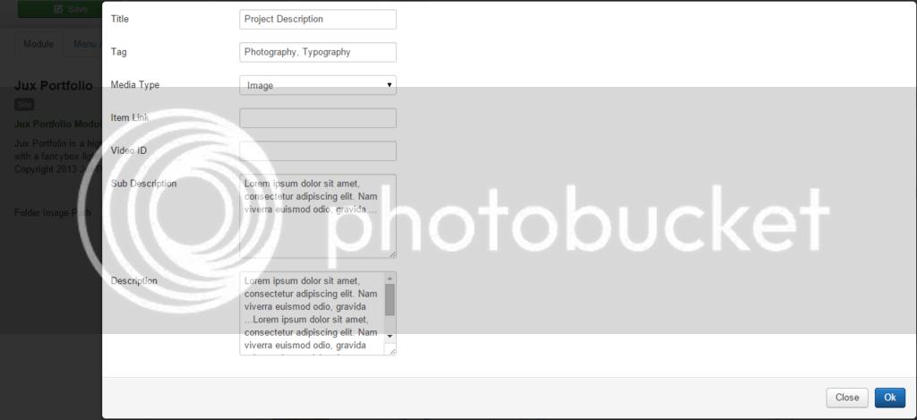Joomla Portfolio Extension Configuration Guide