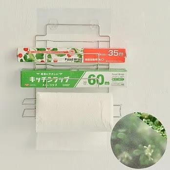 促銷~Peachy Life 霧面貼系列-#304不鏽鋼保鮮膜捲筒紙巾架~促銷 ~ 愛如美麗的浪花
