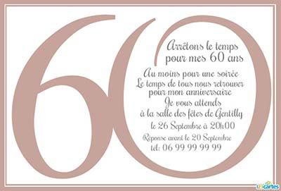carte invitation anniversaire adulte