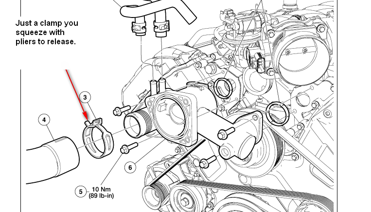 Wiring Diagram: 27 2002 Lincoln Ls Cooling System Diagram