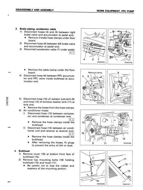 Download komatsu wa470 3 wheel loader workshop service
