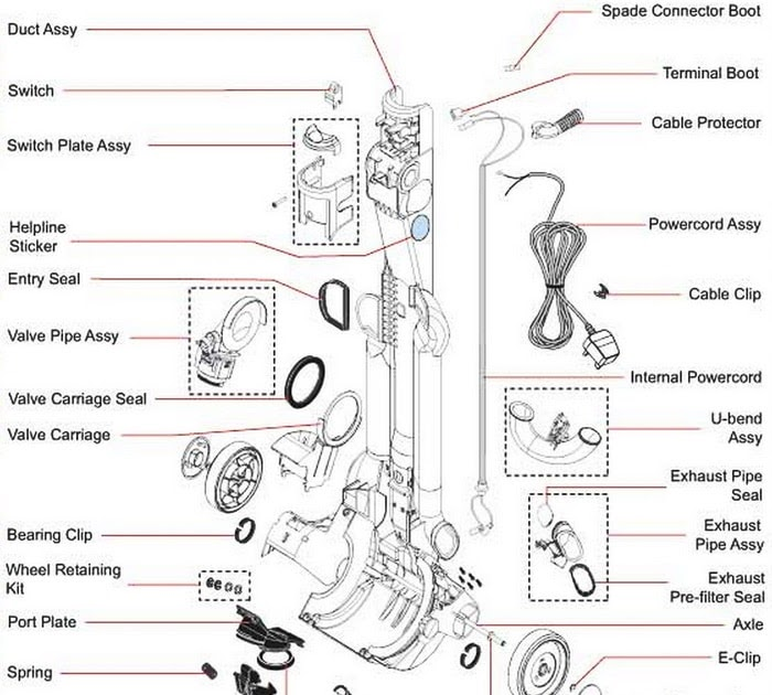 Best View Of Dyson Dc14 Animal Parts Diagram And