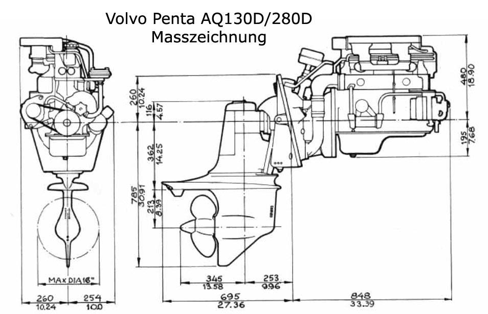 Volov Penta S 130 Weight / Volvo penta aq130 and