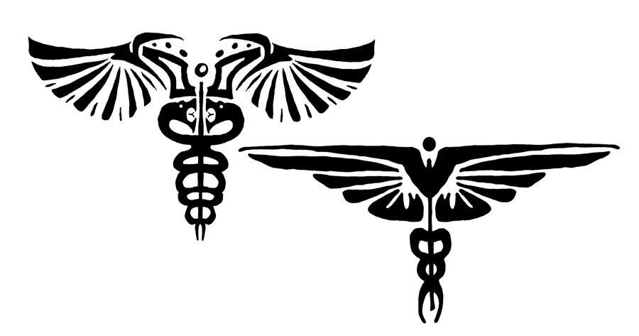 Flag Days: caduceus tattoos