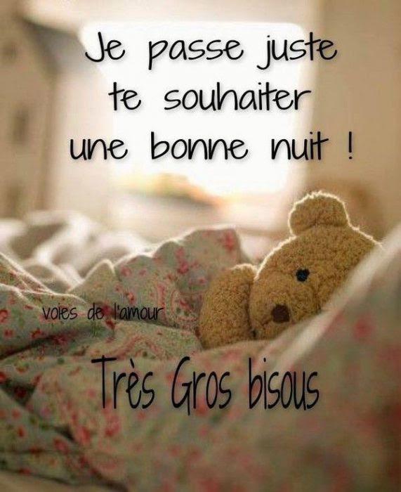 Dire Bonne Nuit Tendrement : bonne, tendrement, Image, Drole:, Jolie, Bonne, Amour
