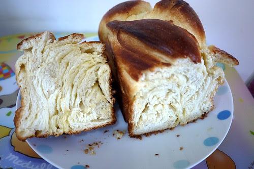 豬欄生活: 2012 第一焗 - 絕頂美味之丹麥吐司