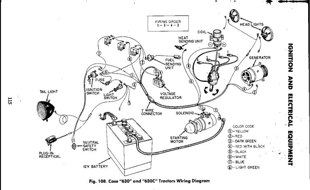 [DIAGRAM] Case 580 Tractor Starter Wiring Diagram