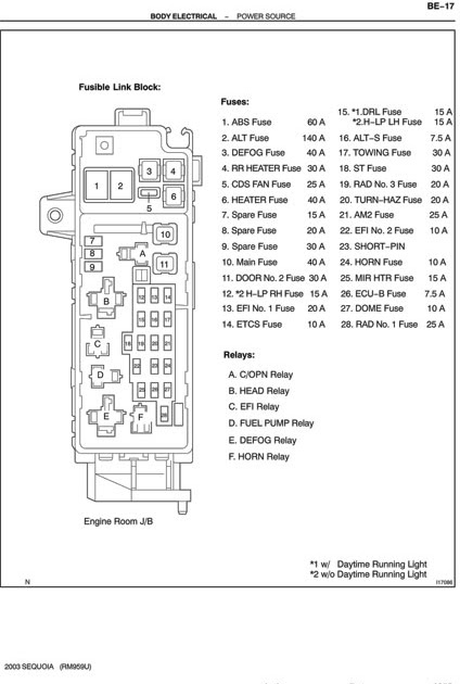 2000 Tacoma Wiring Diagram Horn