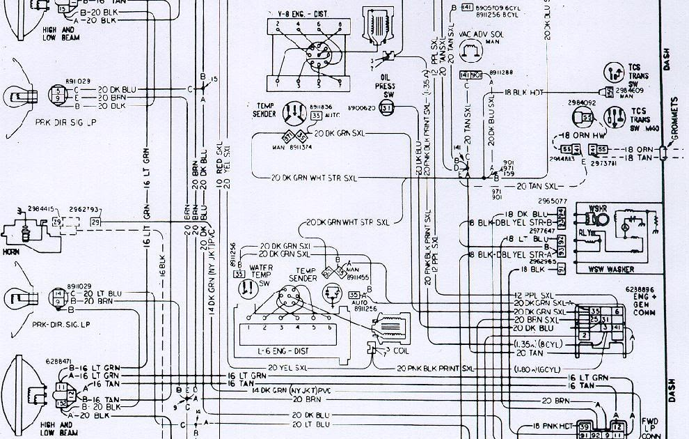 71 Camaro Wiring Diagram