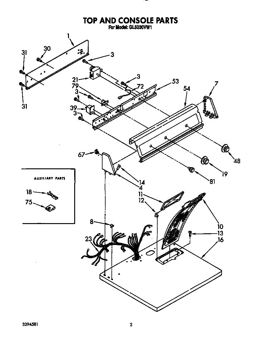 Refrigerators Parts: Roper Dryer Parts