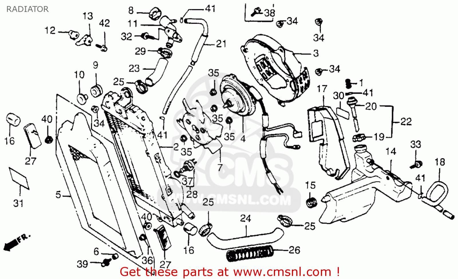 Wiring Diagram PDF: 01 400ex Engine Diagram