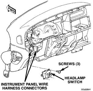1999 Dodge Ram Wiring Diagram