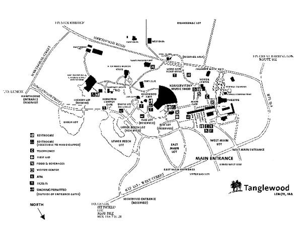 Map Of Lenox Mass