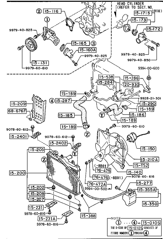 87 Mazda 4cyl Engine Diagram