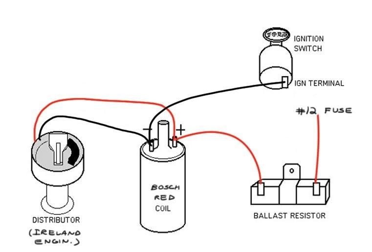 12 Volt Ignition Coil Wiring Diagram / Lambretta