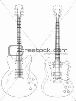 Luthier electric guitar plans Info ~ Garan wood desk