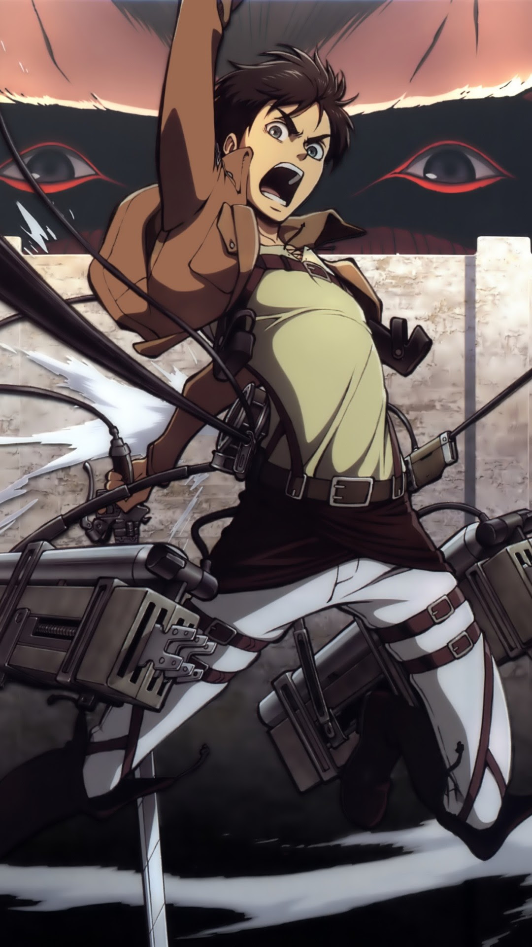 It's fun—and very harry potteresque—to have a bit of motion on your lock screen. Wallpaper Attack On Titan Iphone - Singebloggg