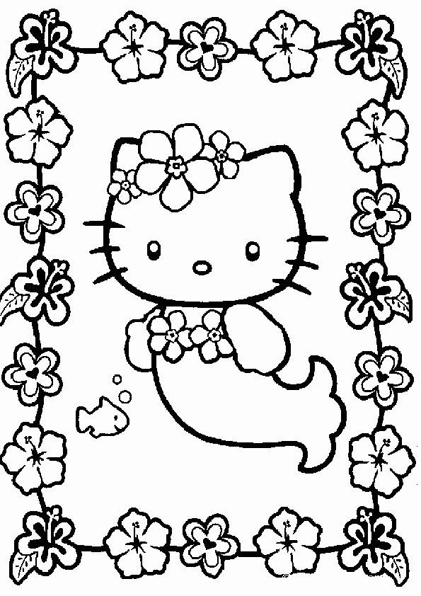 Ausmalbilder Hello Kitty Ausdrucken