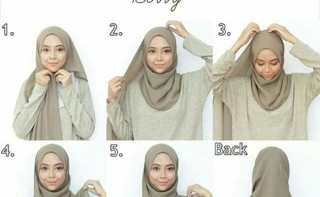 3 Crinkled Hijab Styles Tutorial Cute766