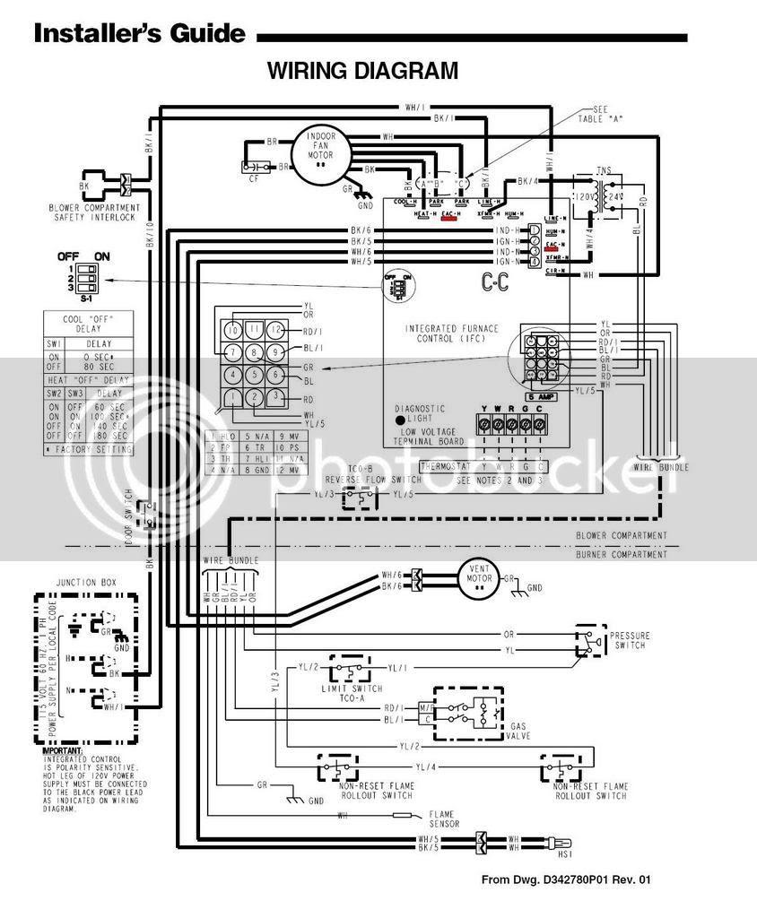 Wiring Diagram Database: Nordyne Wiring Diagram Electric