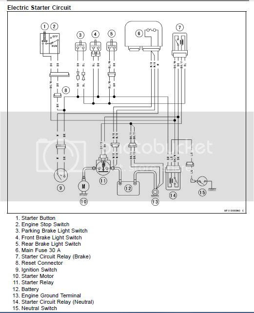 Wiring Diagram: 34 Kawasaki Brute Force 750 Wiring Diagram