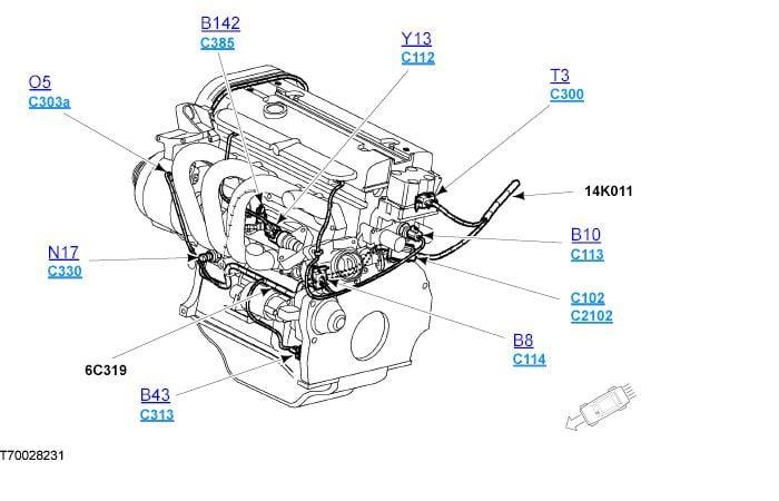 Ford Fiesta Engine Diagram Zetec
