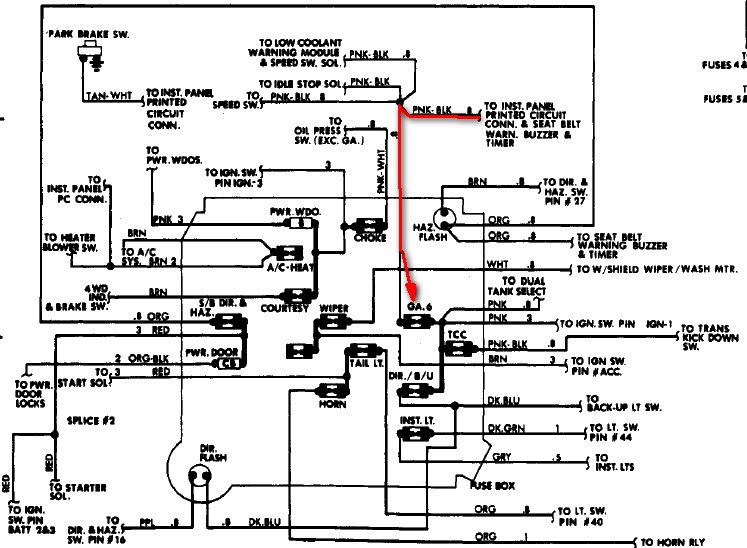 1984 Gmc Sierra Wiring Diagram