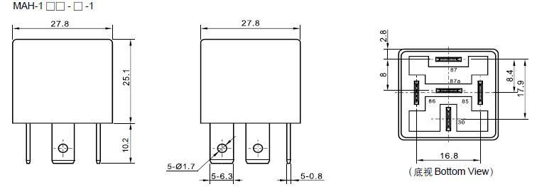 Wiring Diagram PDF: 12v 40a Relay Wire Diagram